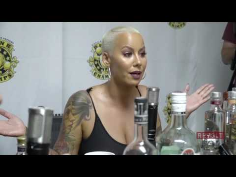 Amber Rose discusses life with Kanye West and more.
