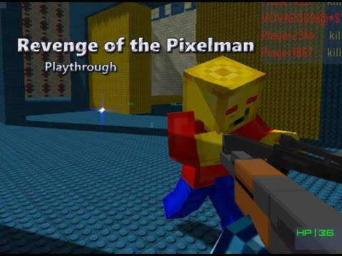 Revenge Of The Pixelman - PC Browser Game