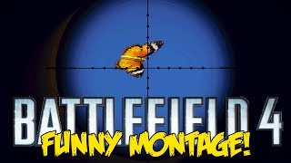 battlefield 4 funny montage butterfly sniping trolling snipers c4 fails bf4 funny moments