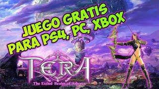 ****JUEGO GRATIS**** Para PS4, Xbox y PC **** TERA **** De Los Mejores Juegos MMORPG