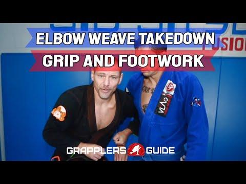 Vladislav Koulikov - Elbow Weave Takedown Series - Intro Grip & Footwork