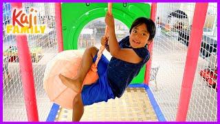 Ryan at Indoor playground for Kids!