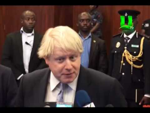 Prez. Akufo Addo Holds Bilateral Talks With Boris Johnson
