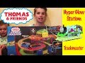 Thomas and Friends HYPER GLOW STATION for Trackmaster! Fun Train Toys!