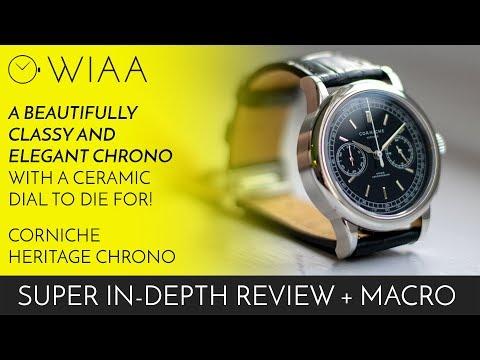 The Beautiful, Classy & Elegant Corniche Heritage Chronograph Watch Review