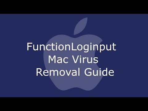 FunctionLoginput Mac Virus Removal