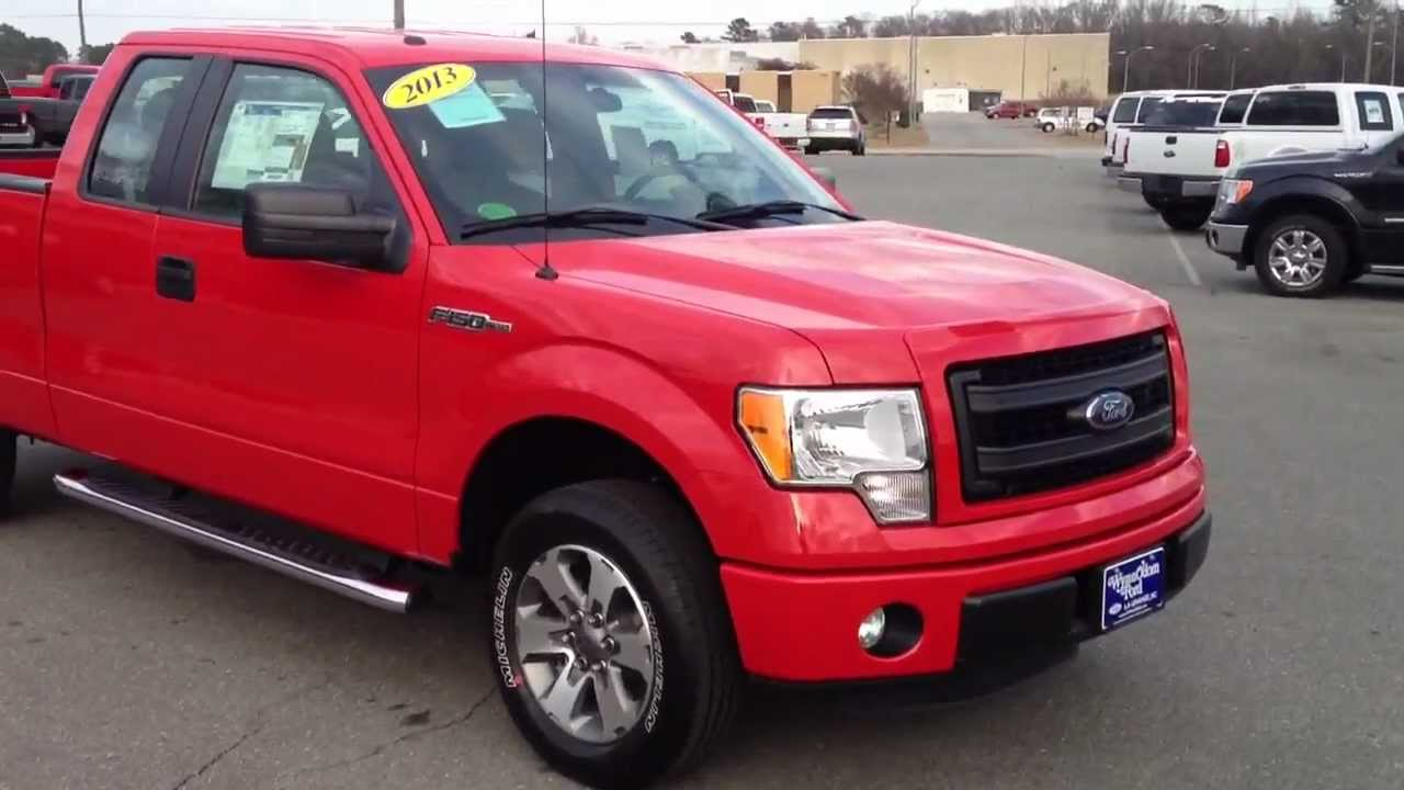 new 2013 ford f 150 supercab stx race red youtube. Black Bedroom Furniture Sets. Home Design Ideas