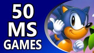 Top 50 Sega Master System Games (Alphabetical Order)