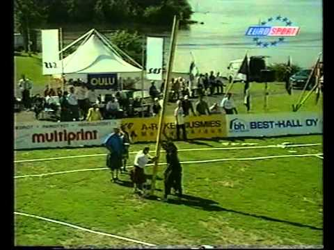 World Championships Highlandgames Oulu in 1998