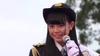 AKB48チーム8福井県代表の長久玲奈ちゃんの一日警察署長の様子です。 く...