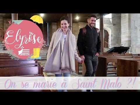 Vlog Famille On Se Marie A Saint Malo Youtube
