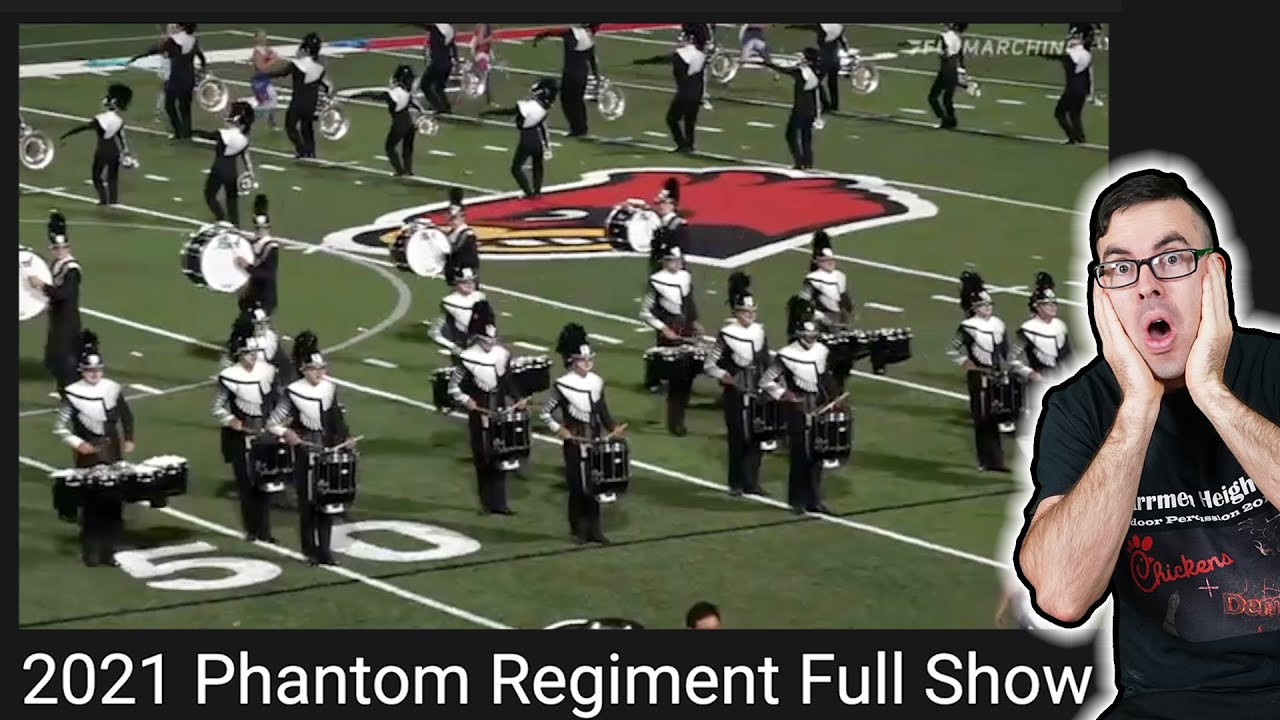 Phantom Regiment 2021 Full Show - EMC Reacts (and learns it)