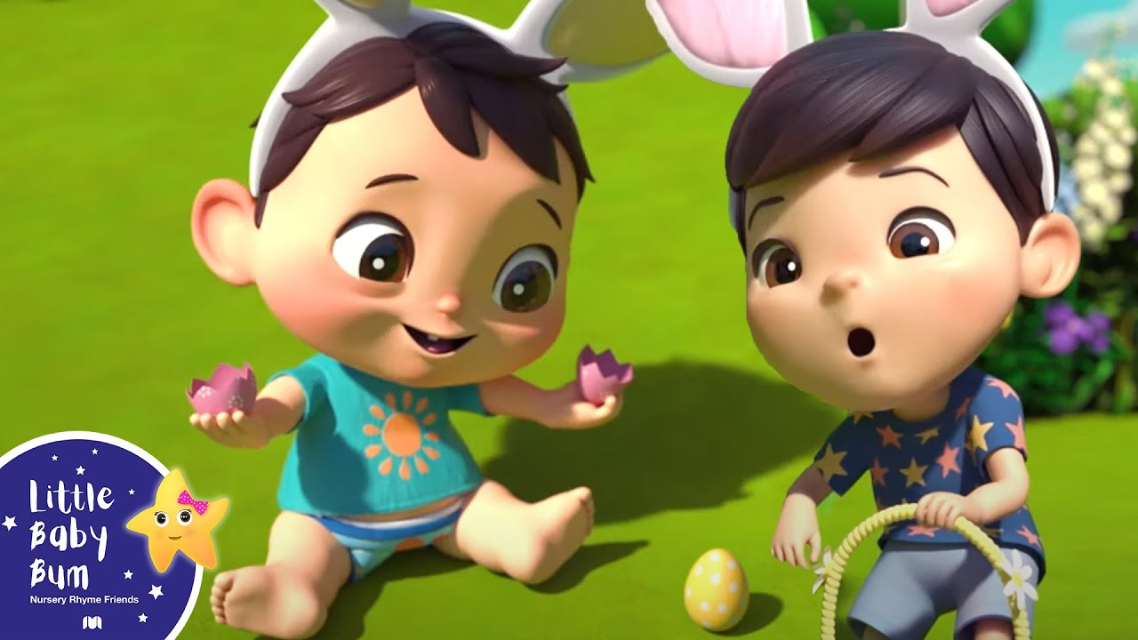 Going On An Egg Hunt & Easter Songs | Baby Songs | Kids Cartoon | Nursery Rhymes | Little Baby Bum