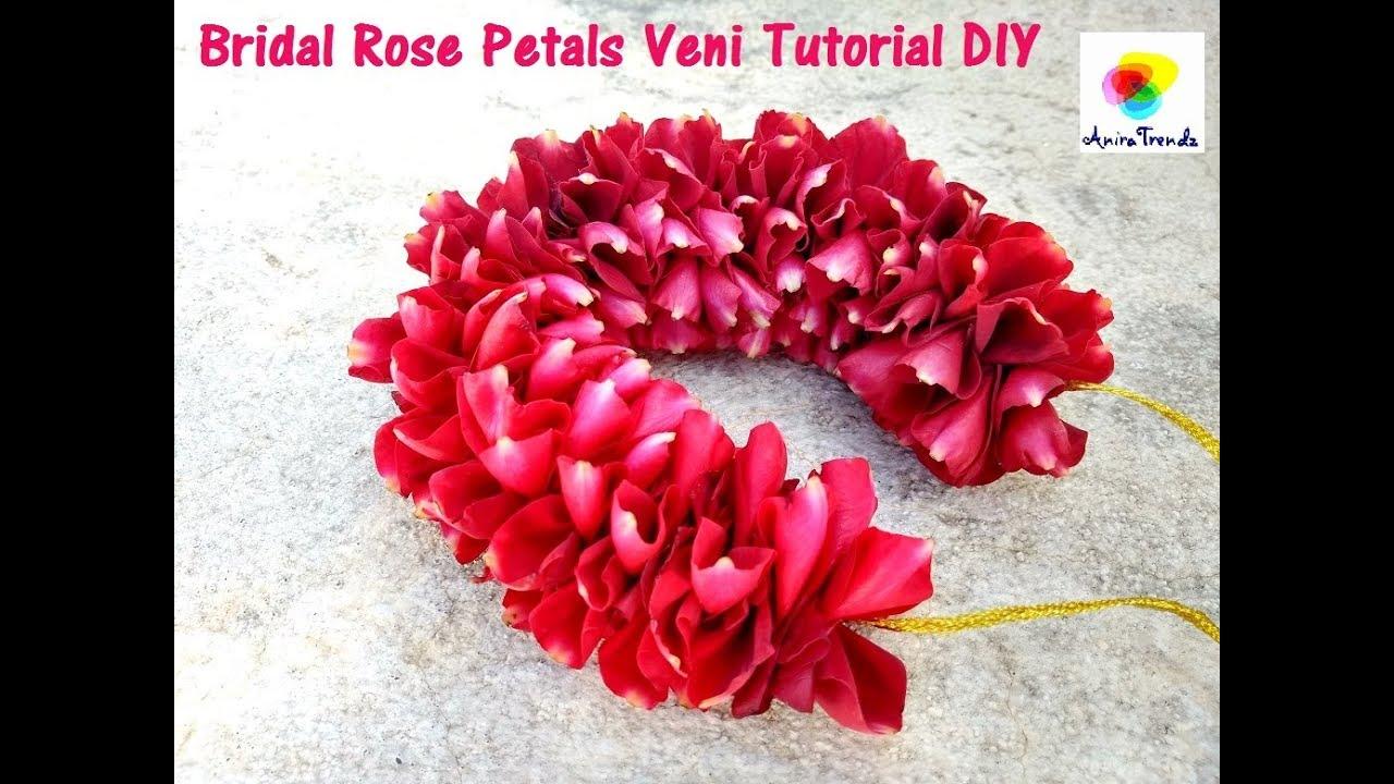 how to make rose petals