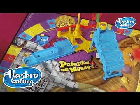Gry Hasbro Polska - Jak grać w Pułapkę na myszy