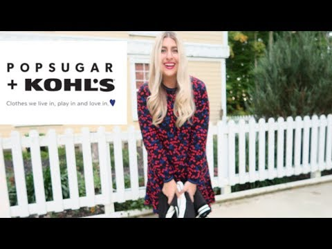 The POPSUGAR + Kohl's Collection Try on Haul  Influenster