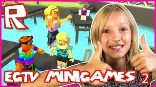 EGTV Arcade Minigames / First & Second Place / Roblox