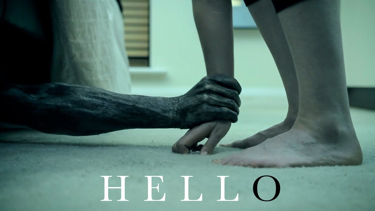 'HELLO' - A Short Creepy Horror Film