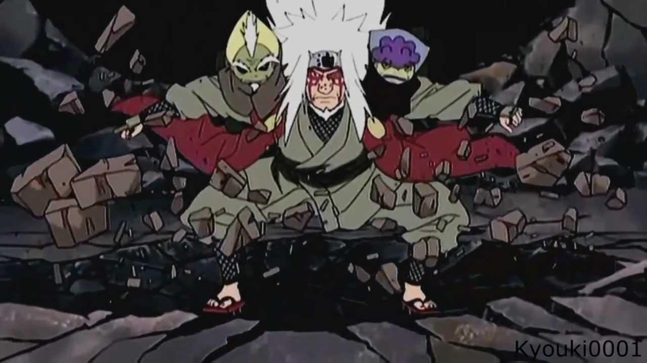 Naruto Shippuuden AMV Jiraiya180s Heart of Courage FULL HD