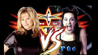 WCW Backstage Assault Elizabeth vs Daffney