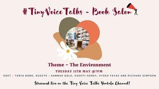 Tiny Voice Talks Book Salon - Environment