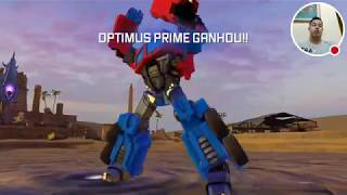 Transformers Fighters no Moto G5 Live