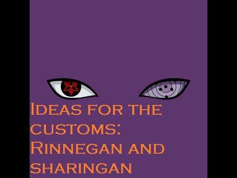 Sharingan Custom Roblox My Opinion On The Custom Sharingan And Ideas For The Custom Rinnegan Beyond Youtube