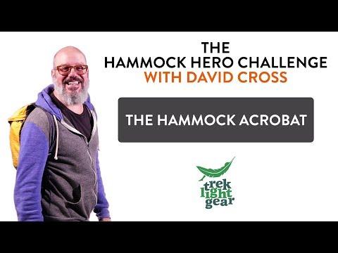 David Cross Hammock Hero Audition #3: The Hammock Acrobat