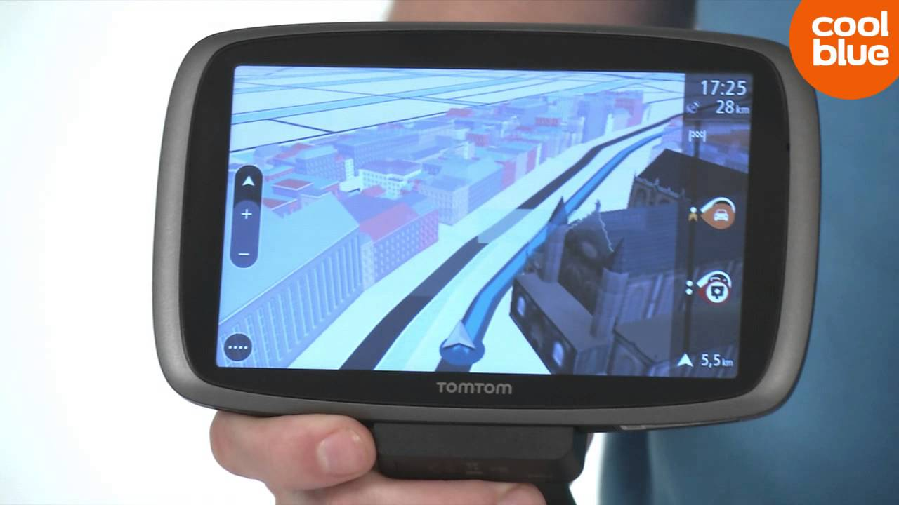 TomTom Go 600 autonavigatie productvideo (NL/BE) - YouTube