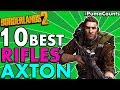 Top 10 Best Assault Rifles in the Game For Axton in Borderlands 2 ARs for Axton Builds #PumaCounts