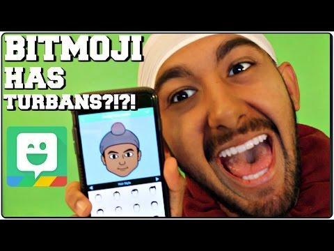 BITMOJI HAS TURBANS?!?! - YouTube