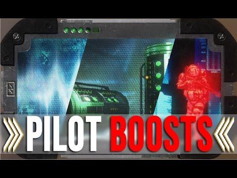 TITANFALL 2: PILOT BOOST OVERVIEW PART 2 - MAP HACK | BATTERY | RADAR JAMMER