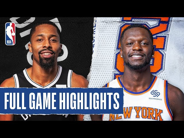 NETS at KNICKS | FULL GAME HIGHLIGHTS | January 26, 2020