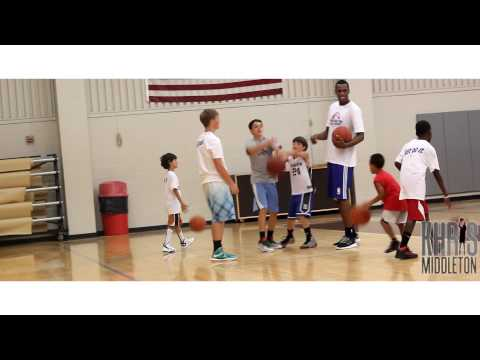 Khris Middleton of the Detroit Pistons /Skill Camp 2013 Highlights/ Dir. By. @Zin_HD
