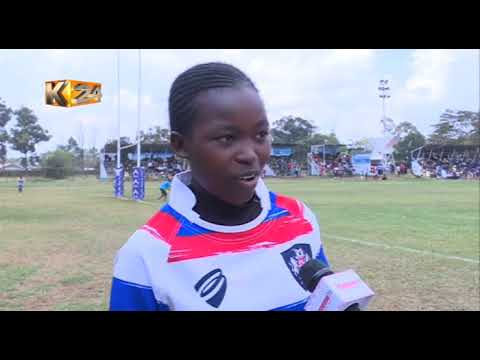 Rugby Sisters:Mildred and Vivian are youngest members of Shamas Rugby club