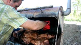 How To Smoke A Brisket Texas Bbq Style - 1st Hour Of 18