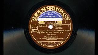 Ganz dahinten, wo der Leuchtturm steht (Ufa Jazz-Orchester, 1932)