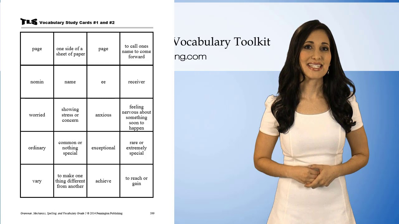 medium resolution of FREE Grade 5 Vocabulary Worksheets