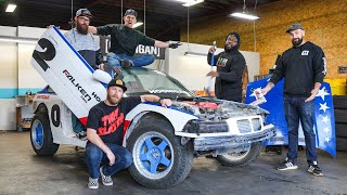 IT'S BACK! Our $350 BMW E36 Gets the Off-Road Safari Treatment / PART 1 of 10 #road2sickcar #$hitC@r