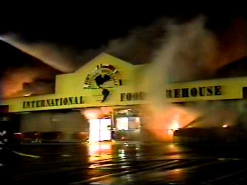 National Wholesale Liquidators Massive Fire Lodi NJ April 17th 1997 Historic Fire Huge Fire