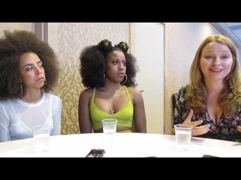 Hayley Law, Asha Bromfield, & Sarah Schechter for Riverdale at SDCC 2017