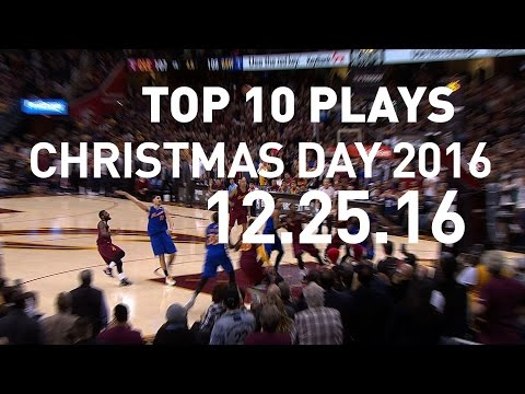 Top 10 Plays: Christmas Day | 12.25.16