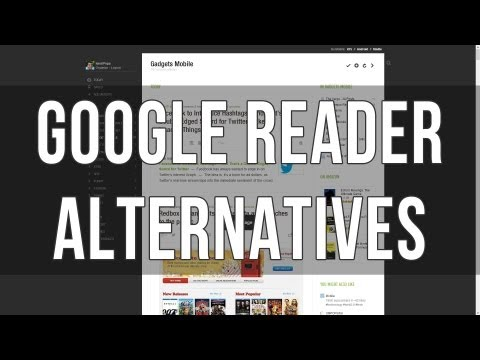 Google Reader alternatives for iOS, Android, PC or Mac