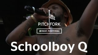 "Schoolboy Q performs ""Blessed"" at Pitchfork Music Festival 2012"