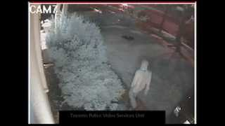 Security video: B&E/Sexual Assault suspect Berry Road/Parklawn Rd Toronto