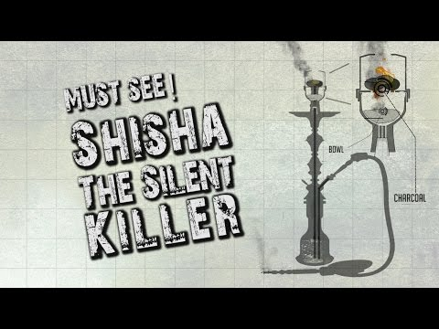 SHOCKING! Shisha The Silent Killer - MUST SEE - #Health