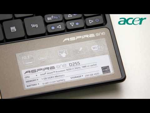 Acer Aspire one D255 Netbook