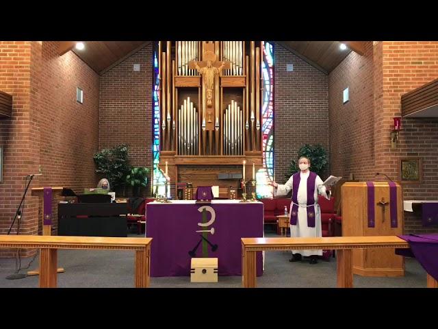 3 Lent - Holy Eucharist - 3/07/21