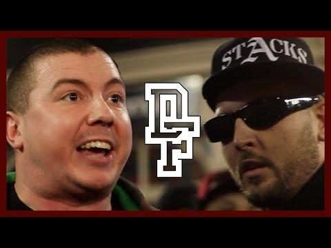 FRANK STACKS VS OSHEA   Don't Flop Rap Battle