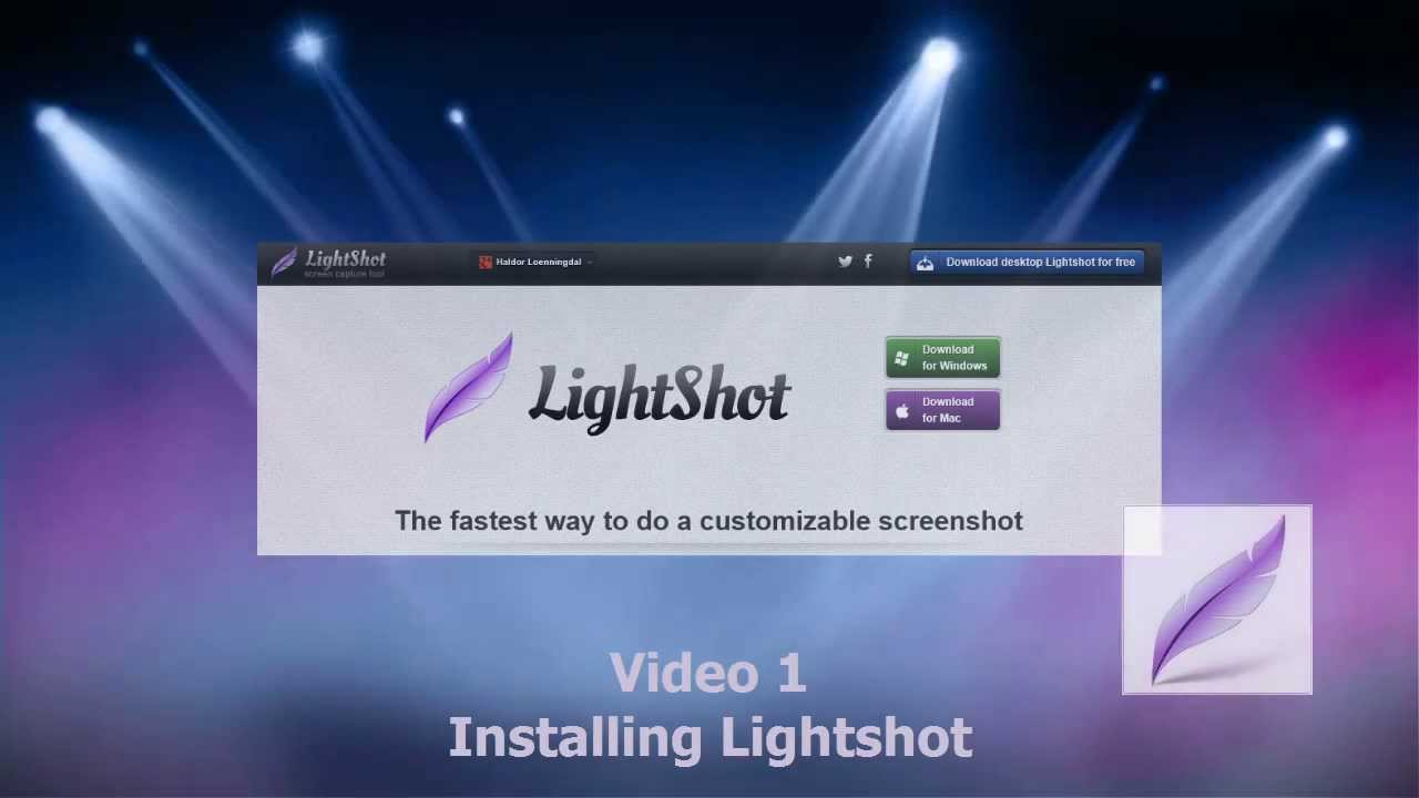 Lightshot tutorials